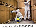 industrial pest control | Shutterstock . vector #1333435031