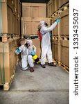 industrial pest control | Shutterstock . vector #1333435037
