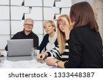 woman explaining something...   Shutterstock . vector #1333448387