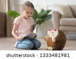 Cute Smart Little Kid Girl...