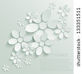 vector flower background. eps10 | Shutterstock .eps vector #133351511