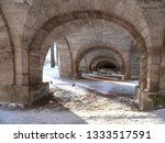 View Of The Stone Arched Vault...
