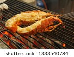 delicious grilled lobster at... | Shutterstock . vector #1333540784