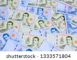 banknotes of the tailand  new... | Shutterstock . vector #1333571804