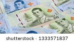 banknotes of the tailand  new... | Shutterstock . vector #1333571837