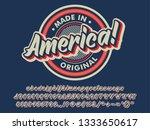 made in america vintage badge ...   Shutterstock .eps vector #1333650617