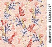 seamless vector pattern ... | Shutterstock .eps vector #1333668017