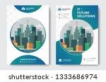 corporate business flyer poster ... | Shutterstock .eps vector #1333686974