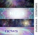 4 different spiritual news... | Shutterstock . vector #1333696601