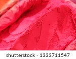 indian colorful powder  abir ... | Shutterstock . vector #1333711547