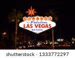 las vegas  nv   january 9  2019 ... | Shutterstock . vector #1333772297
