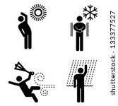 People Icons. Weather  ...