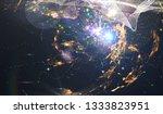 geometry of virtual space....   Shutterstock . vector #1333823951