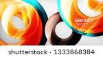 modern geometric circles... | Shutterstock .eps vector #1333868384