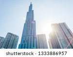 ho chi minh city  vietnam  ... | Shutterstock . vector #1333886957