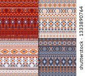 navajo tribal ethnic motifs... | Shutterstock .eps vector #1333890764