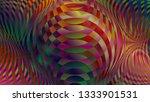 color spectrum glitch... | Shutterstock . vector #1333901531
