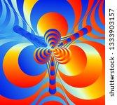 color spectrum gradient... | Shutterstock .eps vector #1333903157