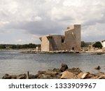 tonnara and swabian tower in...   Shutterstock . vector #1333909967