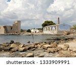 tonnara and swabian tower in...   Shutterstock . vector #1333909991