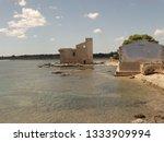 tonnara and swabian tower in...   Shutterstock . vector #1333909994