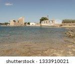 tonnara and swabian tower in...   Shutterstock . vector #1333910021