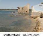 tonnara and swabian tower in...   Shutterstock . vector #1333910024