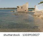 tonnara and swabian tower in...   Shutterstock . vector #1333910027