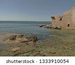 tonnara and swabian tower in...   Shutterstock . vector #1333910054