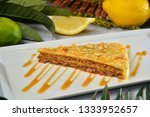 slice of swedish almond cake...