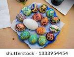 ukrainian festival of easter... | Shutterstock . vector #1333954454