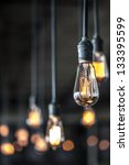 lighting decor | Shutterstock . vector #133395599