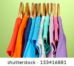 variety of casual shirts on... | Shutterstock . vector #133416881