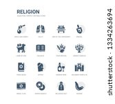 simple set of icons such as... | Shutterstock .eps vector #1334263694