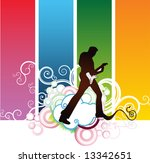 rock and roll live | Shutterstock .eps vector #13342651