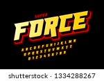 comics style font design ... | Shutterstock .eps vector #1334288267