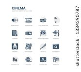 simple set of icons such as... | Shutterstock .eps vector #1334290787