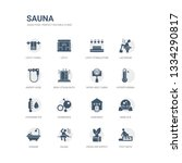 simple set of icons such as... | Shutterstock .eps vector #1334290817