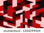 creative abstract geometric... | Shutterstock .eps vector #1334299424