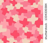 fashionable camouflage pattern. ... | Shutterstock .eps vector #1334330384