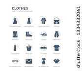 simple set of icons such as... | Shutterstock .eps vector #1334332061