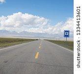 wild field highway    Shutterstock . vector #1334413601