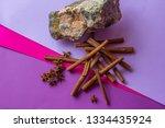Still Life Of Stone  Cinnamon...