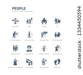 simple set of icons such as... | Shutterstock .eps vector #1334450594