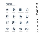simple set of icons such as...   Shutterstock .eps vector #1334450597
