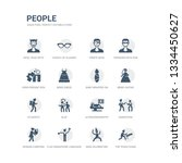 simple set of icons such as the ... | Shutterstock .eps vector #1334450627