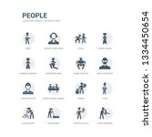 simple set of icons such as... | Shutterstock .eps vector #1334450654