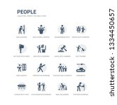 simple set of icons such as... | Shutterstock .eps vector #1334450657