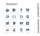 simple set of icons such as... | Shutterstock .eps vector #1334450777
