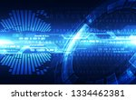 abstract security digital... | Shutterstock .eps vector #1334462381